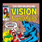Vision and the Scarlet Witch (1985) #2 Cover