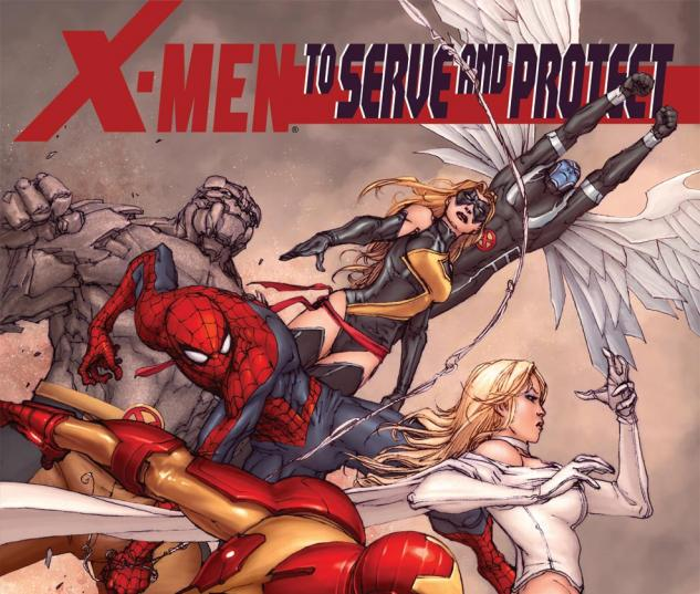 X-Men: To Serve and Protect (2010) #2 Cover