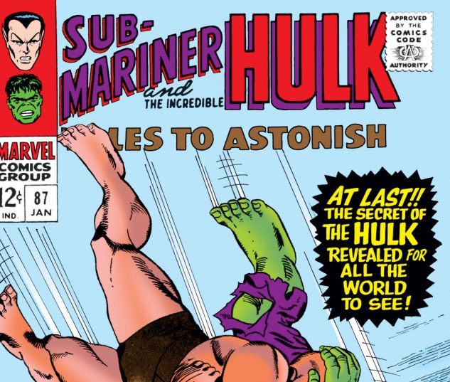 Tales to Astonish (1959) #87 Cover