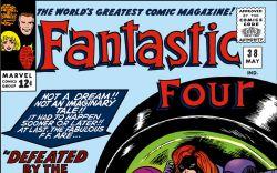 Fantastic Four (1961) #38 Cover