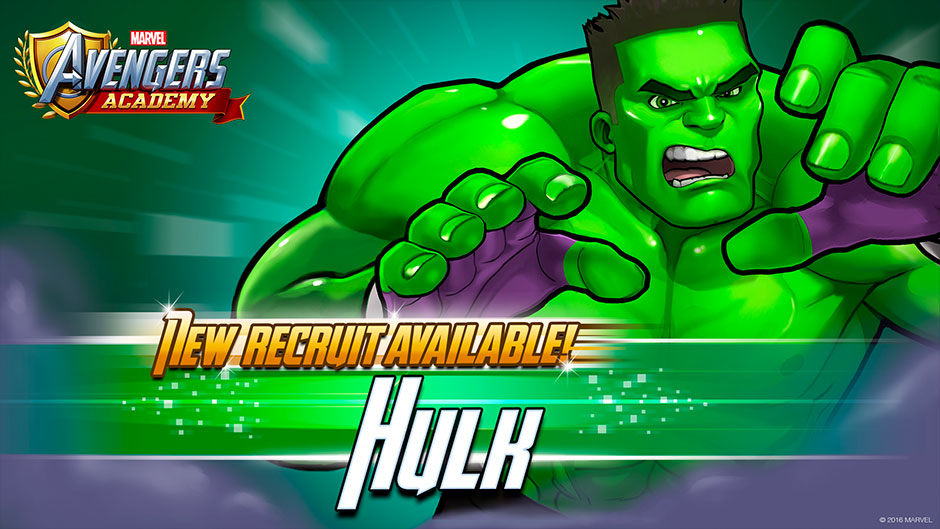 Unlock the Gamma Zone in 'Marvel Avengers Academy'
