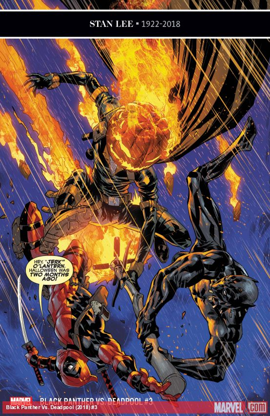 Black Panther Vs. Deadpool (2018) #3