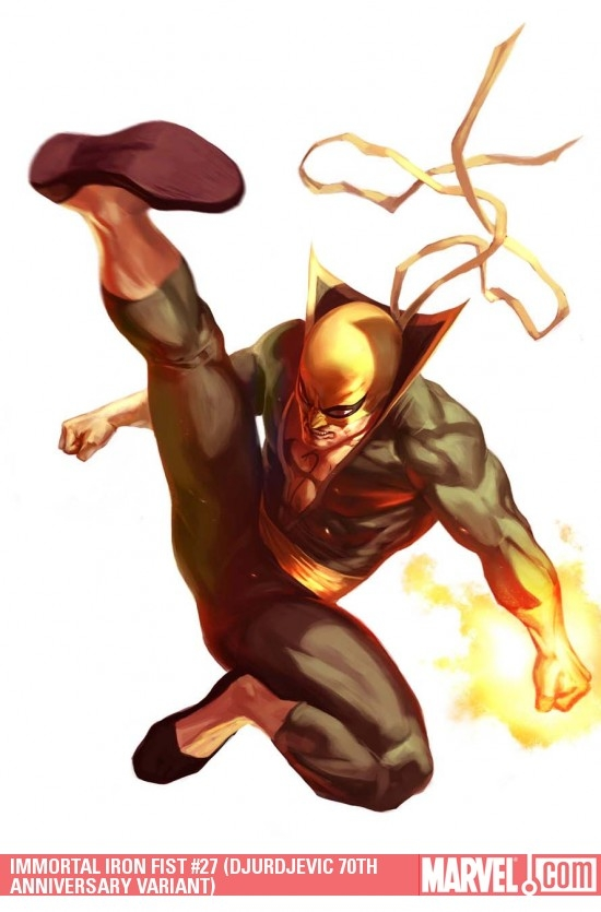 IMMORTAL IRON FIST #27 (DJURDJEVIC 70TH ANNIVERSARY VARIANT)