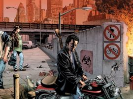 THE STAND: CAPTAIN TRIPS wraparound cover by Mike Perkins