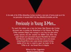 YOUNG X-MEN #5 recap page
