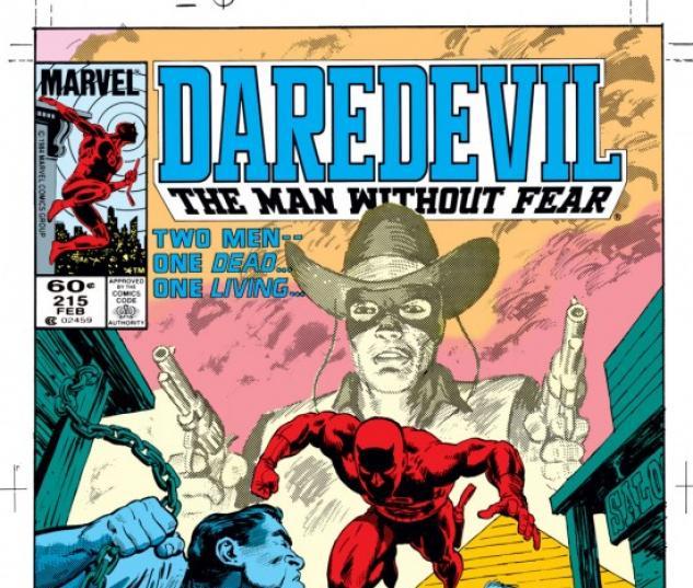 DAREDEVIL #215 COVER