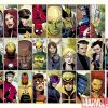 Image Featuring Iron Fist (Danny Rand), Wolverine, Iron Man, Wonder Man, Jessica Jones, The Winter Soldier, Patriot, Hawkeye (Kate Bishop), Avengers, War Machine (James Rhodes), Stature, Beast, Spider-Woman (Jessica Drew), Speed, Black Widow, Spider-Man, Mockingbird, Luke Cage, Thor