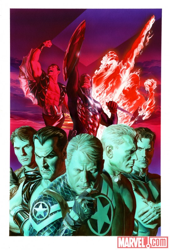 INVADERS NOW! #1 cover by Alex Ross