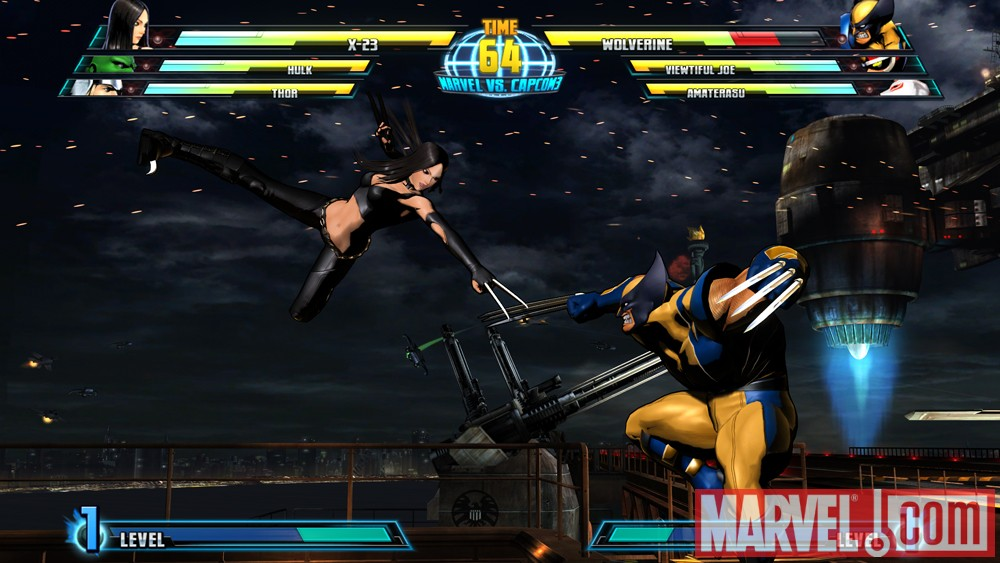 X-23 vs. Wolverine in Marvel vs. Capcom 3