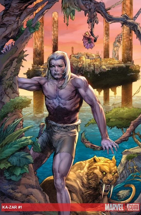 Ka-Zar (2011) #1 cover by Pascal Alixe