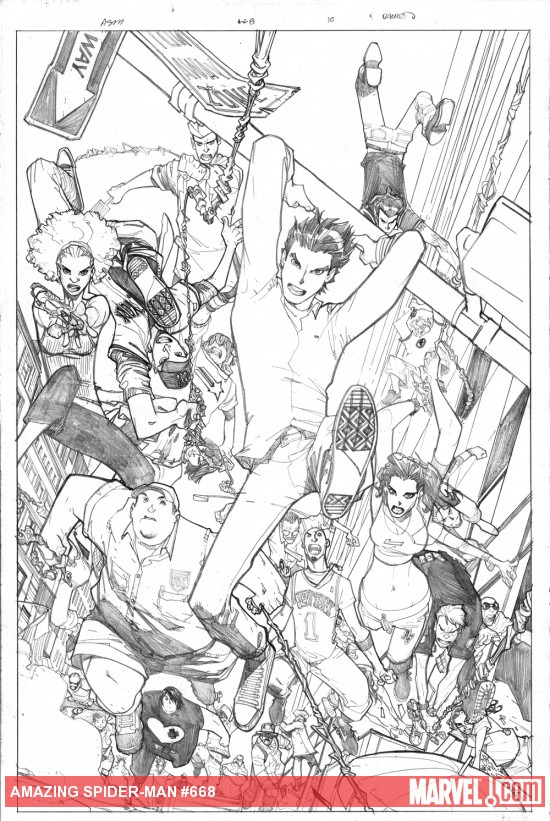PREVIEW: Amazing Spider-Man Detail