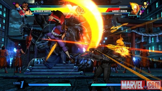 Strider Hiryu in Ultimate Marvel vs Capcom 3 by Capcom