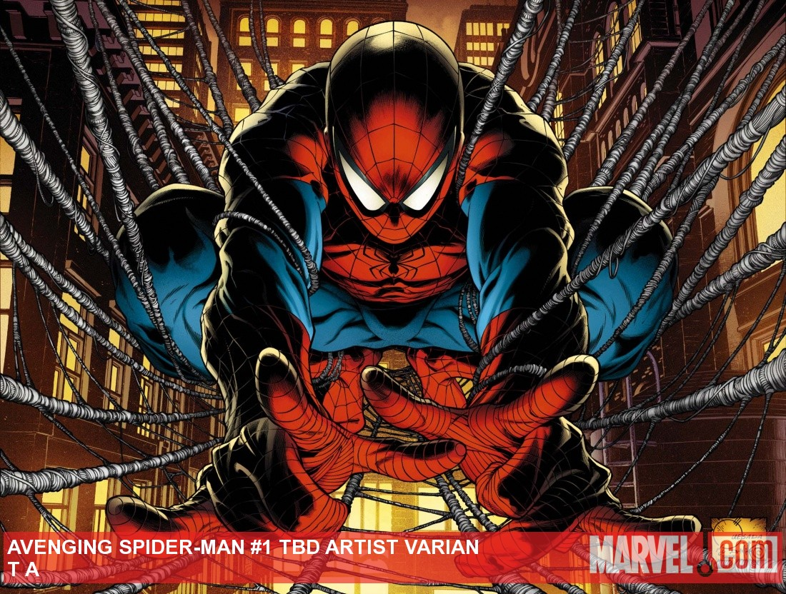 Avenging Spider-Man #1 cover by Joe Quesada