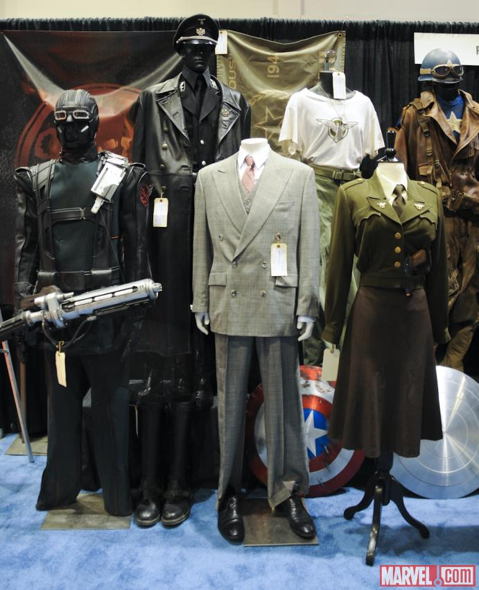 C2E2 2012: Captain America: The First Avenger Auction Pieces