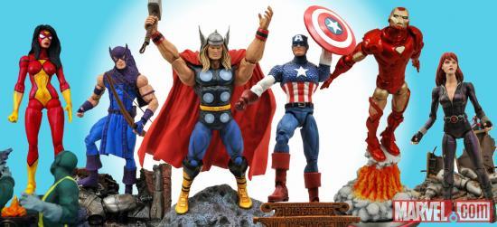 Новая коллекция фигурок Мстителей от Diamond Select Toys