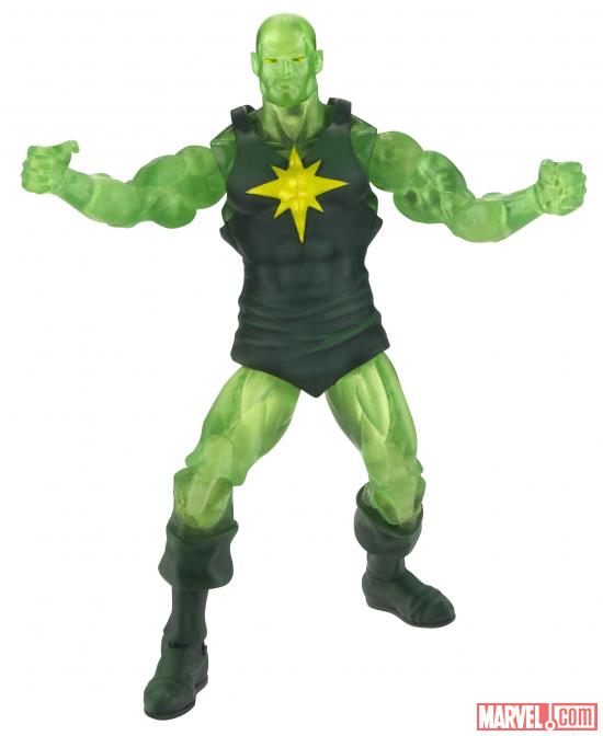 "Marvel Universe 3.75"" Masters of Evil Radioactive Man Figure"