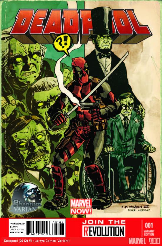 DEADPOOL 1 LARRYS COMICS VARIANT (NOW)