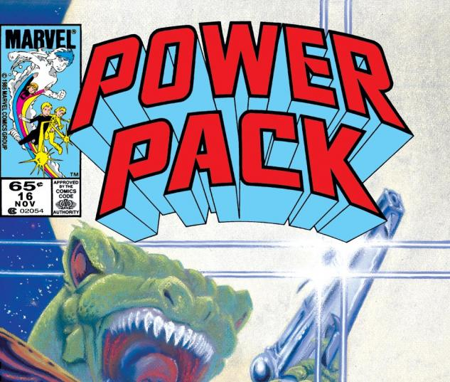 Power Pack (1984) #16 Cover