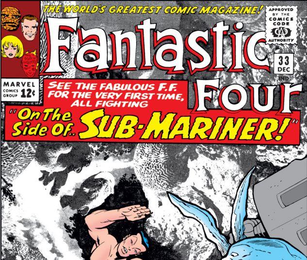 Fantastic Four (1961) #33 Cover