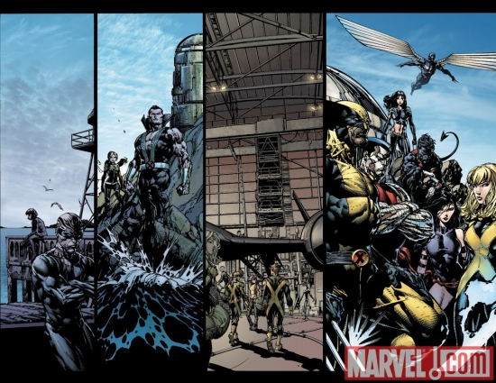 Image Featuring Nightcrawler, Psylocke, Rogue, Wolverine, X-23, X-Men, New Mutants, Vanisher (Telford Porter), Archangel, Colossus