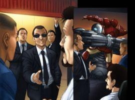 IRON MAN: FAST FRIENDS #2 preview art by Ronan Cliquet