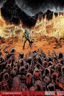 The Zombie: Simon Garth #4