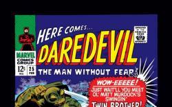 DAREDEVIL #25 COVER