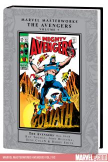 Marvel Masterworks: The Avengers Vol. 7 (Hardcover)