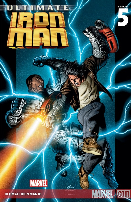 ULTIMATE IRON MAN (2007) #5 COVER