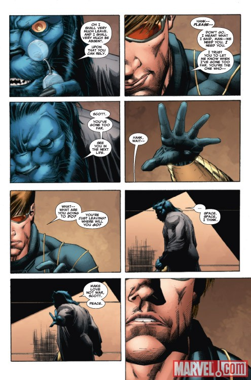 UNCANNY X-MEN: THE HEROIC AGE #1 preview art by Whilce Portacio