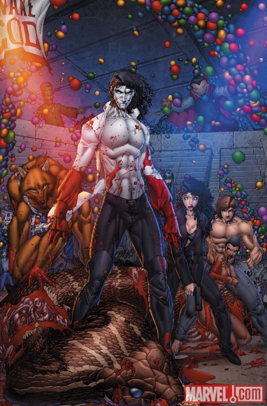 ANITA BLAKE: CIRCUS OF THE DAMNED - THE CHARMER #4 cover by Brett Booth