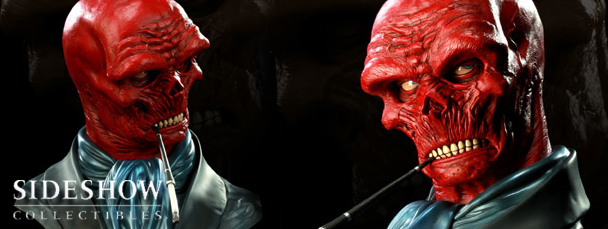 Sideshow Collectibles' Red Skull Bust
