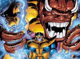 Thanos and Mangog
