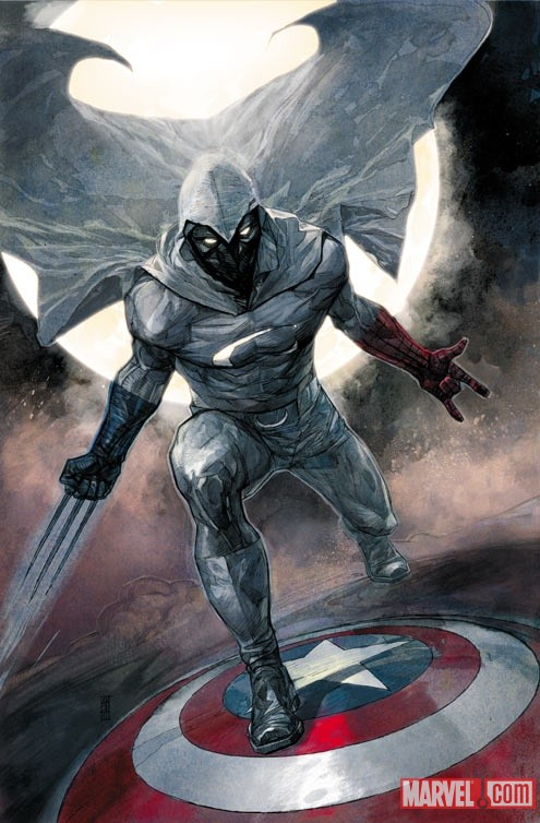 Moon Knight (2011) #1 cover by Alex Maleev