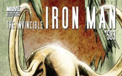 Invincible Iron Man #503 Hollywood variant cover by Sebastian Fiumara