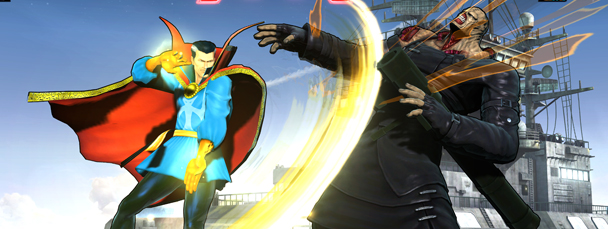Doctor Strange and Nemesis Join Ultimate MvC3