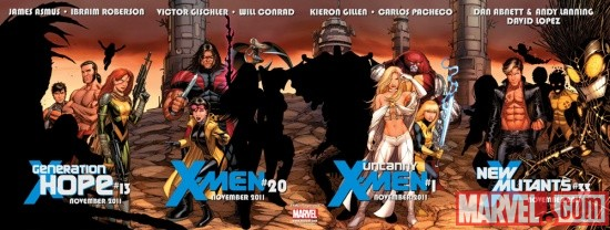 X-Men: Regenesis teaser by Dale Keown