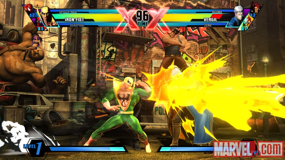 Ultimate Marvel vs. Capcom 3 Iron Fist Screenshot 9