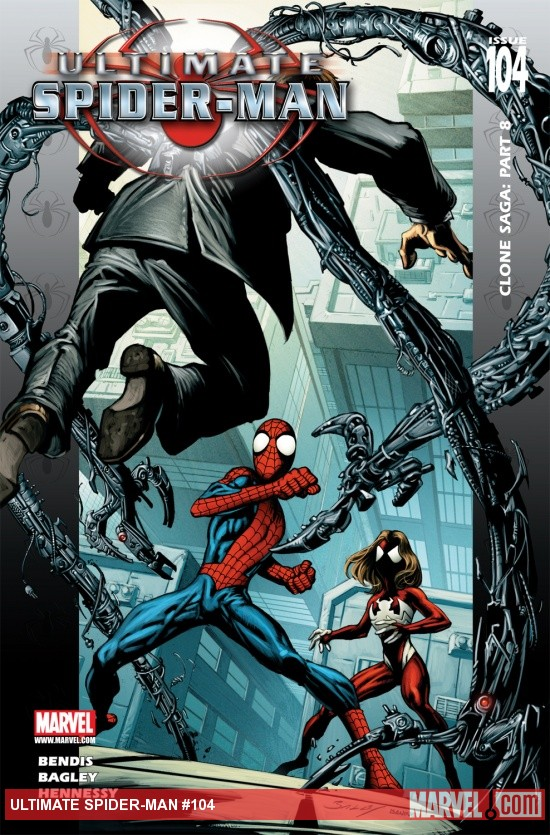 Ultimate Spider-Man (2000) #104 Cover