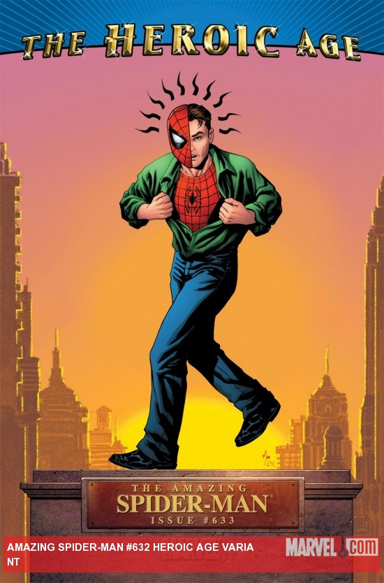 Amazing Spider-Man (1999) #633, Heroic Age Variant