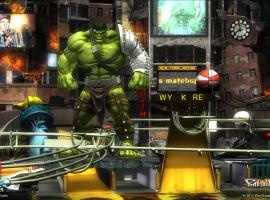 Screenshot from the Marvel Pinball: Avengers Chronicles World War Hulk table