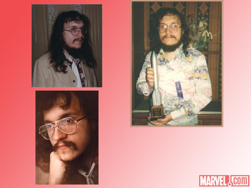 George R. R. Martin in the 1970s