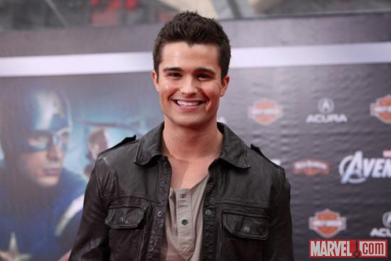 21 Jump Street's Spencer Boldman on the Avengers red carpet
