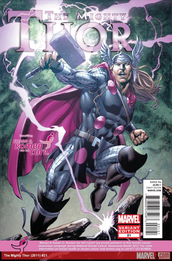 The Mighty Thor #21 variant cover