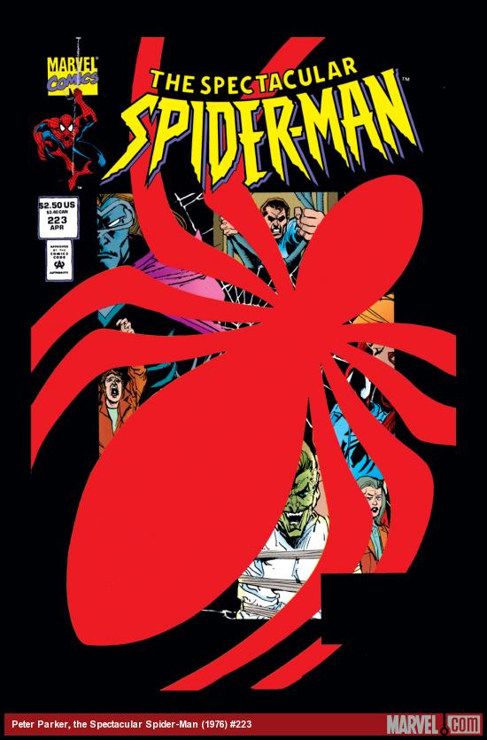 Peter Parker, the Spectacular Spider-Man (1976) #223 Cover