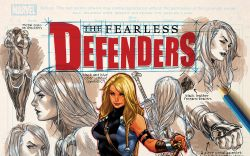 FEARLESS DEFENDERS 8 (NOW, WITH DIGITAL CODE)