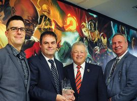 Marvel and Siemens Recognize Heroes