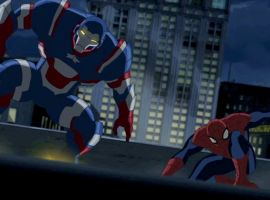 Ultimate Spider Man Iron Patriot | www.pixshark.com ...