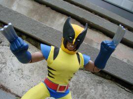 Diamond Select Toys' Marvel Retro Wolverine Figure
