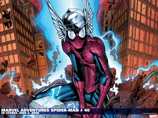 Marvel Adventures Spider-Man (2005) #40 Wallpaper